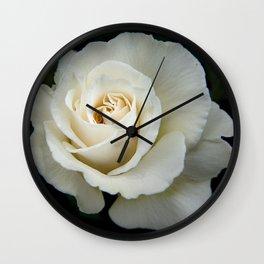 Rose Bloom Wall Clock