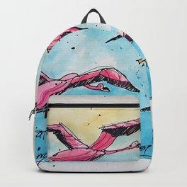 Flamingo Flyway - Dubai Backpack