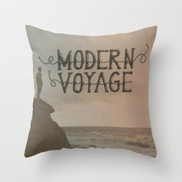 Modern Voyage Throw Pillow