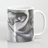 courage Mugs featuring Courage by Justin (Mo'Art) Nichols