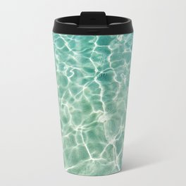 Clear Ocean Water Travel Mug