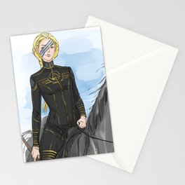 gold rider Stationery Cards