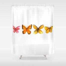Butterflies no 2 Shower Curtain