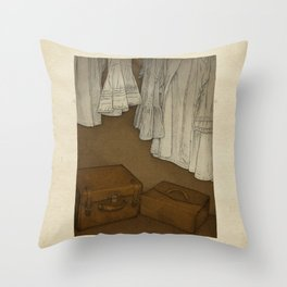 Once Throw Pillow