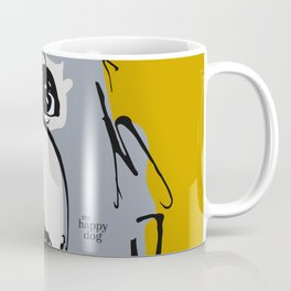 Lulz - gray/yellow Coffee Mug