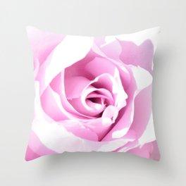 Lavender Rose Throw Pillow