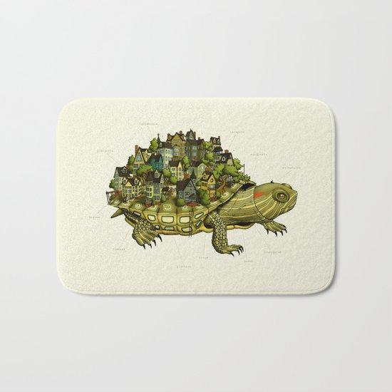 Turtle Town Bath Mat