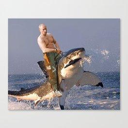 Vladimir Putin Funny Meme Canvas Print