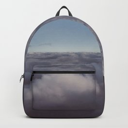 Panorama of clouds over sky Backpack