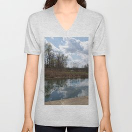 Oh to reflect Unisex V-Neck