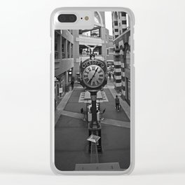 The clock at Horton Clear iPhone Case