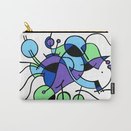 Print #9 Carry-All Pouch
