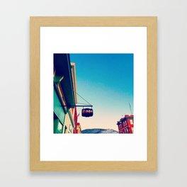 Beer on Main Street - Beacon NY Framed Art Print