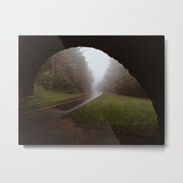 Blue Ridge Parkway Overpass Metal Print