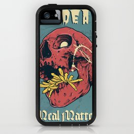 Mc Dead - Meal Matters iPhone Case