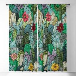 Cactus Collection Blackout Curtain