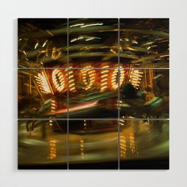 Time Travel Wood Wall Art
