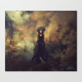To our sacred badlands Canvas Print