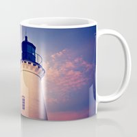 lighthouse Mugs featuring Lighthouse by JMcCool