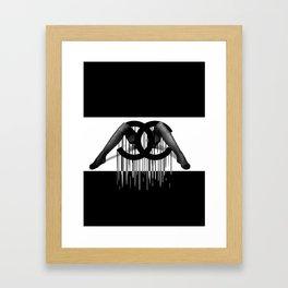 Fashion Heaux Framed Art Print