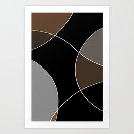 Coffee and Creamer Art Print