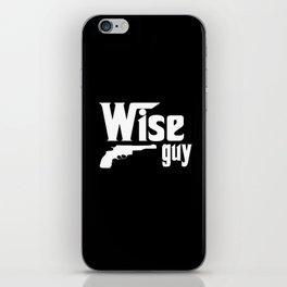 wise guy iPhone Skin