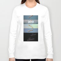 2001 a space odyssey Long Sleeve T-shirts featuring 2001: a space odyssey by Lucas Preti
