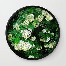 JC FloralArt 08 Wall Clock