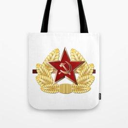 Soviet Cap Badge Tote Bag