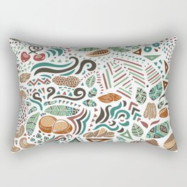 Nuts And Nature Rectangular Pillow