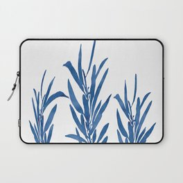 Eucalyptus Branches Blue Laptop Sleeve