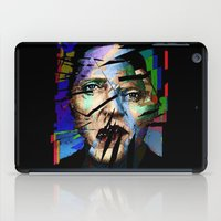 actor iPad Cases featuring Christopher Walken. Cracked Actor. by brett66
