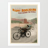 Happy Hooligans Art Print