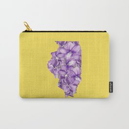 Illinois in Flowers Carry-All Pouch