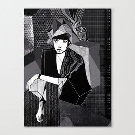 Greyscale Canvas Print