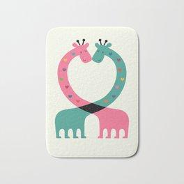 Love With Heart Bath Mat