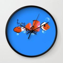 frying nemo Wall Clock