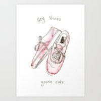 vans Art Prints featuring VANS by Arlington Jr