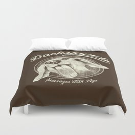 Sausage With Legs Duvet Cover