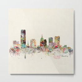 oklahoma city skyline Metal Print