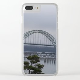 Yaquina Bay Bridge Newport, Or Clear iPhone Case