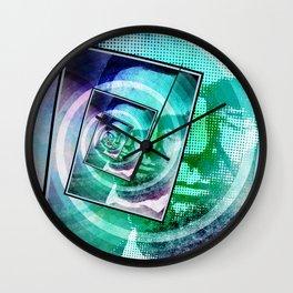 President Abraham Lincoln Pop Art Wall Clock
