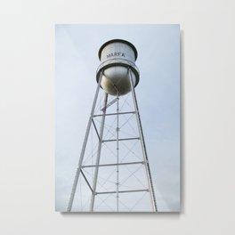 Marfa Water Tower Metal Print