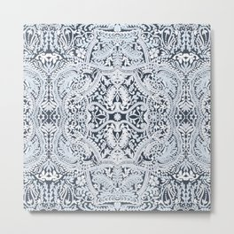 Decorative Lace Metal Print