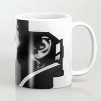 stanley kubrick Mugs featuring STANLEY KUBRICK by A. Dee