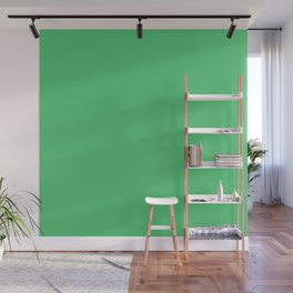 Emerald Green Wall Mural