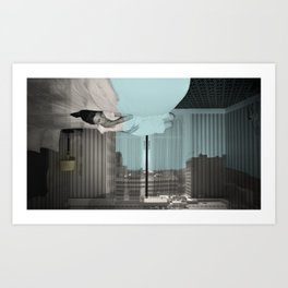 Camera Obscura: Outside In(n) 64 Art Print