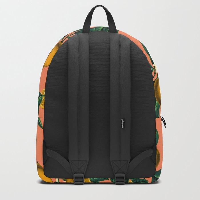 Lemon and Leaf Backpack