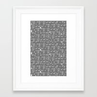 physics Framed Art Prints featuring Physics by EloisaD