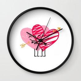 Love & Friendship Wall Clock